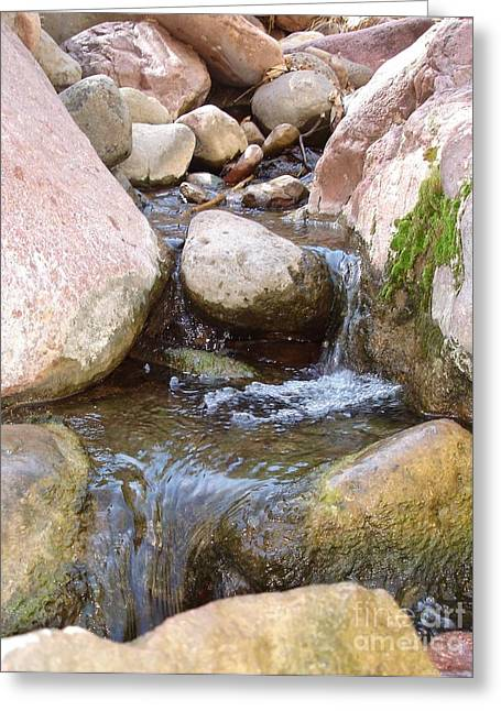 Greeting Card featuring the photograph Rock Creek by Kerri Mortenson