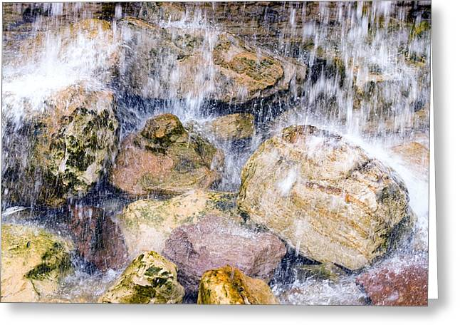Rock Falls Greeting Card