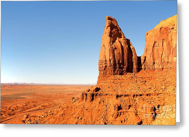 Rock Formation Greeting Card by Jane Rix
