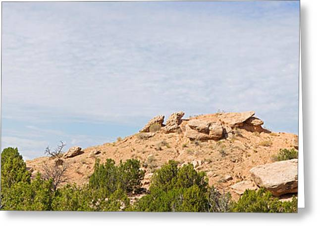 Rock Formation On A Landscape, Camel Greeting Card