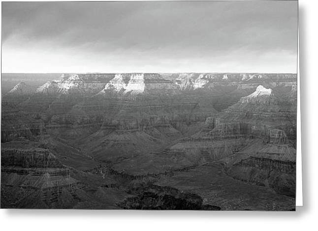 Rock Formations On A Landscape, Hopi Greeting Card by Panoramic Images