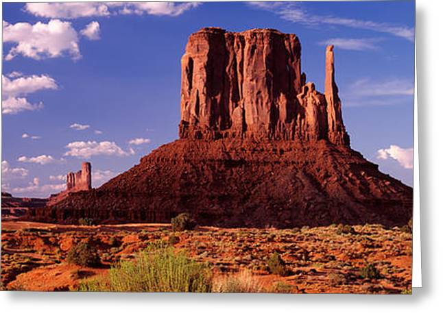 Rock Formations On A Landscape, The Greeting Card