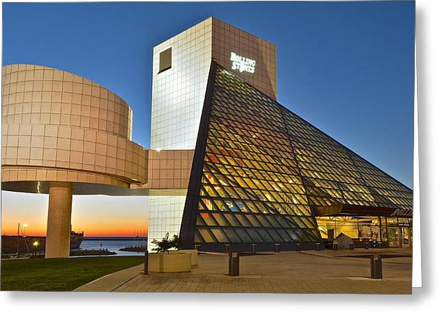 Rock Hall Stones Tribute Greeting Card