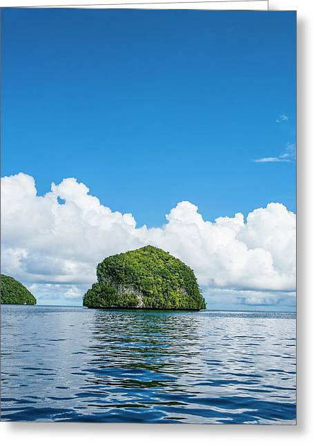 Rock Islands, Palau, Central Pacific Greeting Card by Michael Runkel
