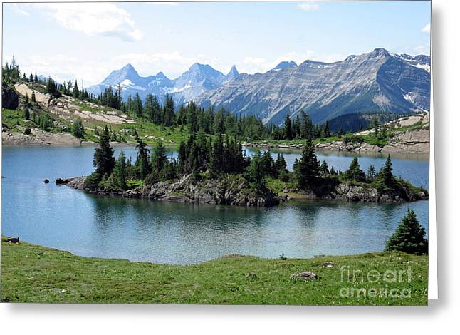 Rock Isle Lake Greeting Card