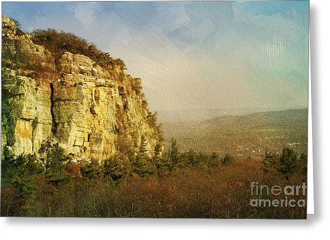 Rock Of Ages Greeting Card by A New Focus Photography