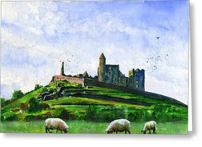 Rock Of Cashel Ireland Greeting Card