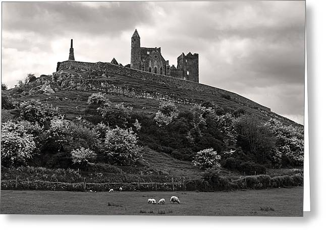 Rock Of Cashel Ireland Greeting Card by Pierre Leclerc Photography