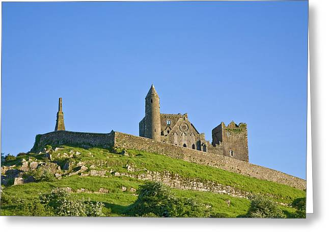 Rock Of Cashel, Site Of Monastic Greeting Card