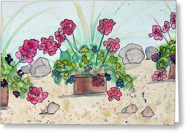 Rock Path Greeting Card