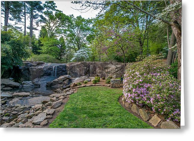 Rock quarry garden in cleveland park greenville sc for Landscaping rocks greenville sc