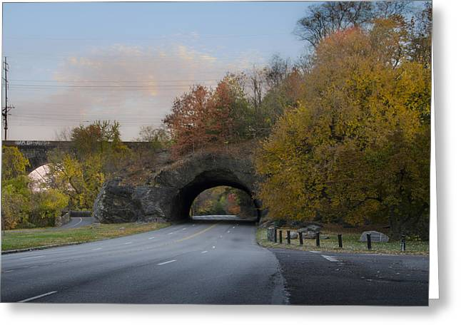 Rock Tunnel - Kelly Dive Greeting Card by Bill Cannon