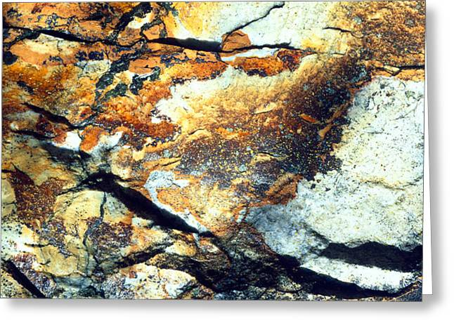 Rock Wasatch National Forest Ut Usa Greeting Card