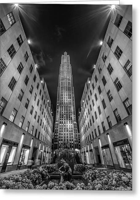 Rockefeller Center - New York 1 Greeting Card by Larry Marshall