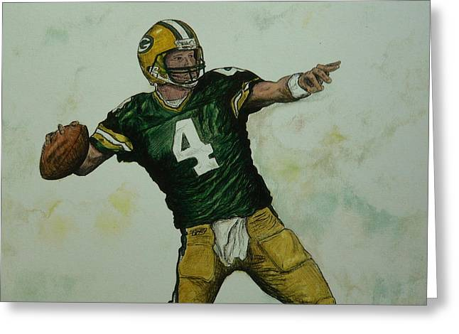 Rocket Favre Greeting Card