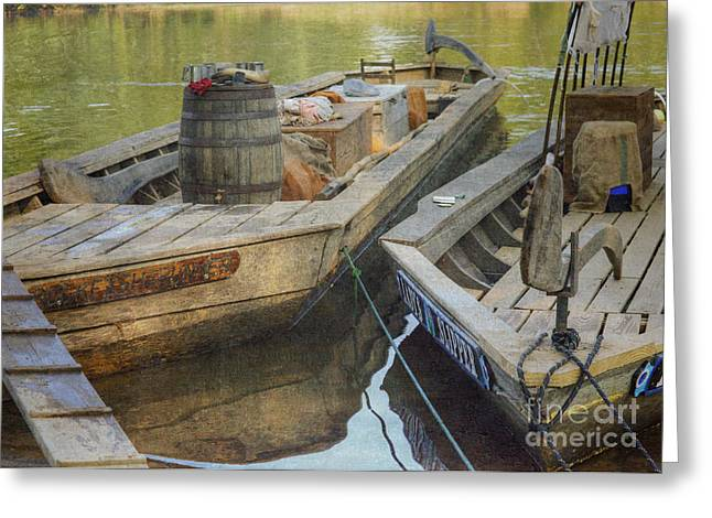 Greeting Card featuring the photograph Rockfish Runner by Pete Hellmann
