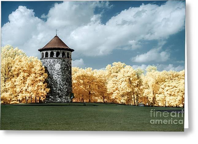 Rockford Tower Greeting Card
