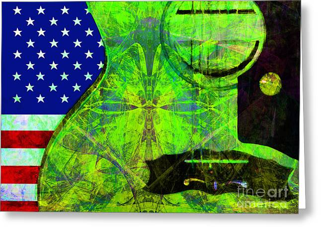 Rockin Usa 20140716 V2 P68 Greeting Card by Wingsdomain Art and Photography