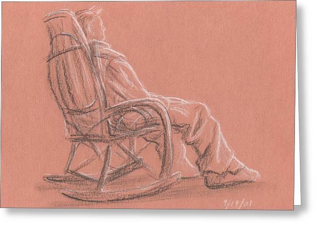 Rocking Chair Greeting Card