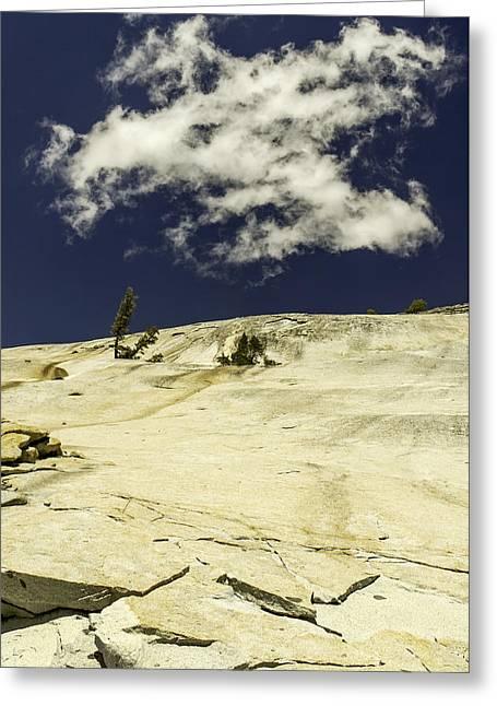 Rocking Skyward-yosemite Series 10 Greeting Card by David Allen Pierson
