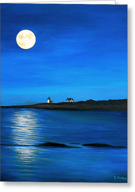 Rockport Harvest Moon Greeting Card