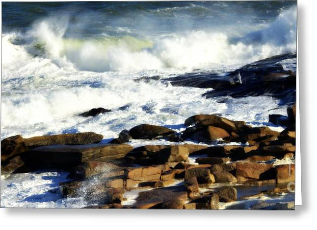Rockport Greeting Card by Kenny Glotfelty