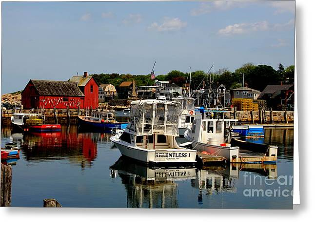 Rockport Greeting Card