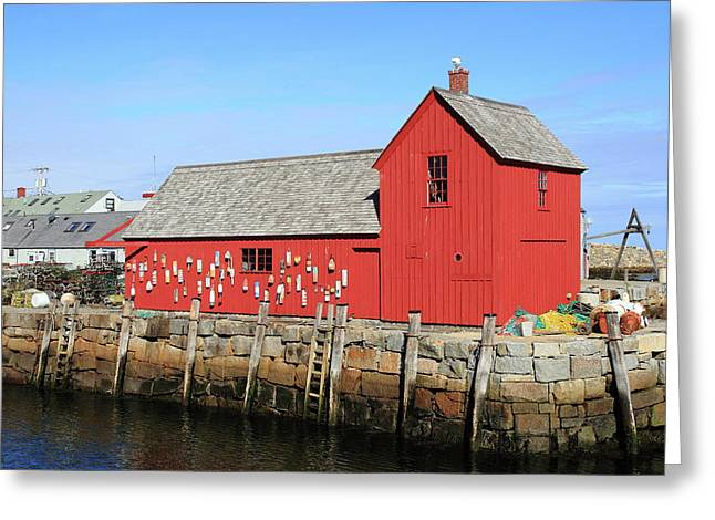 Rockport Motif Number 1 Greeting Card