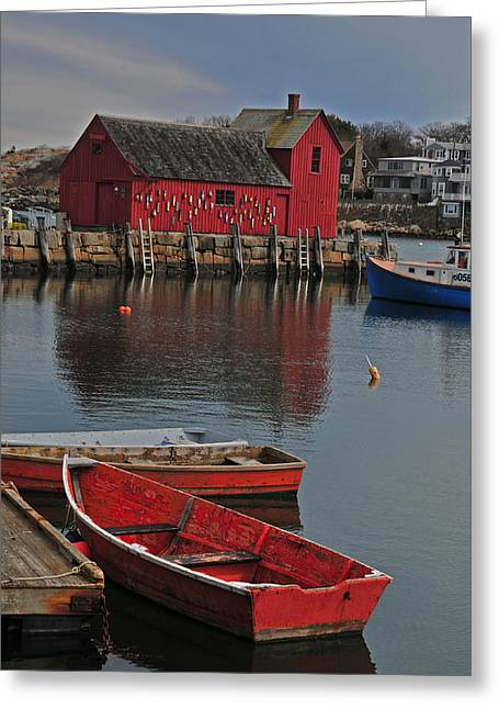 Rockport No. 1 Greeting Card by Mike Martin