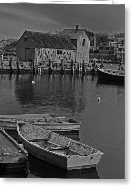 Rockport No.  2 Greeting Card by Mike Martin