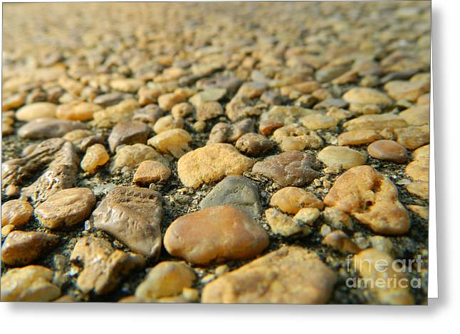 Rocks On My Path Greeting Card