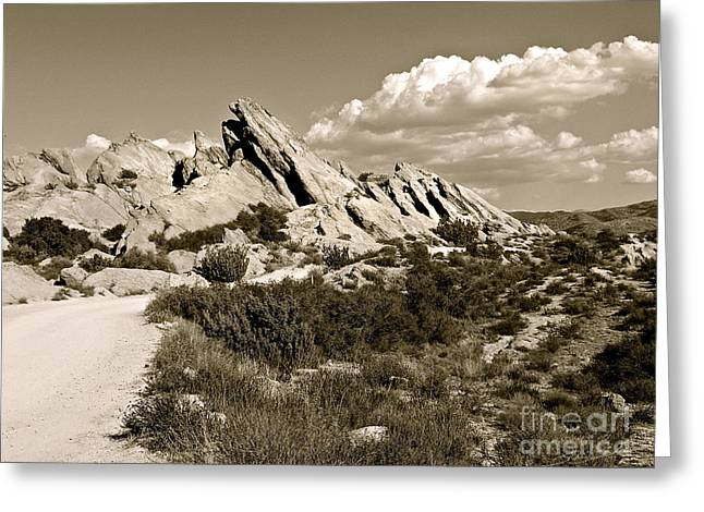 Rocks On Warm Wind Greeting Card