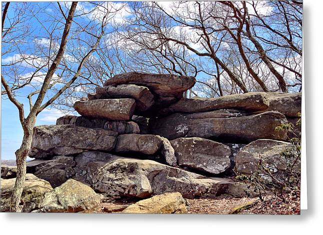Rocks State Park Greeting Card