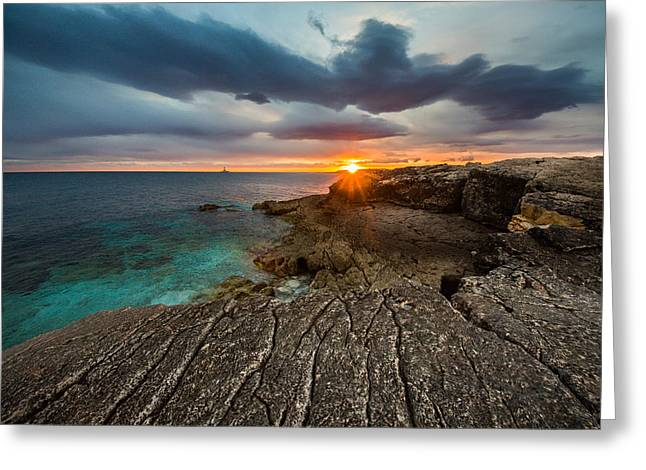 Rocky Beach II Greeting Card by Davorin Mance