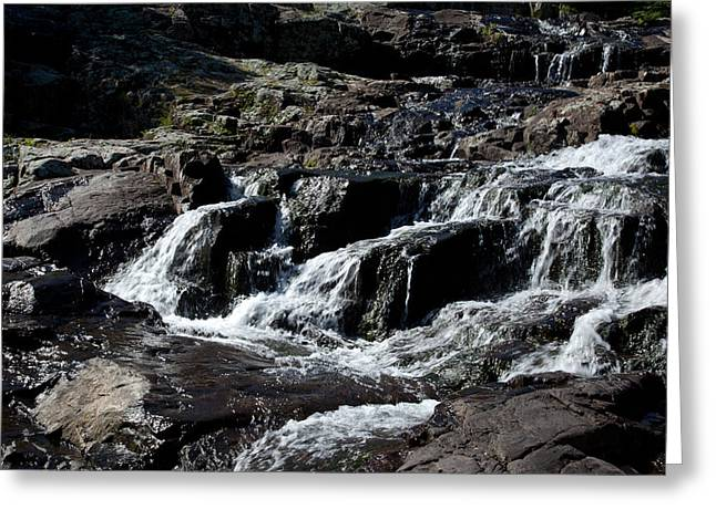 Rocky Falls Greeting Card