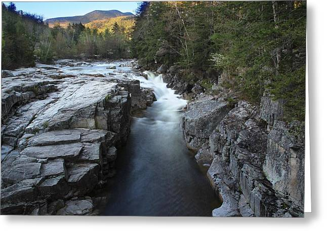 Rocky Gorge Greeting Card by Andrea Galiffi
