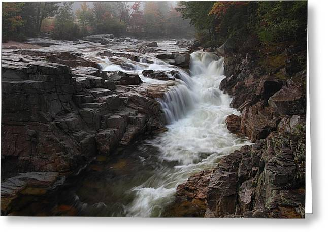 Rocky Gorge Greeting Card by Mike Farslow