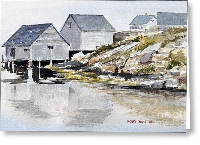 Rocky Inlet Greeting Card