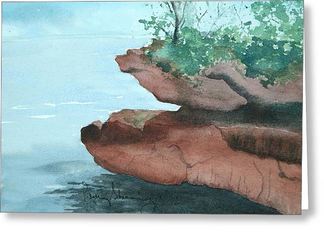 Rocky Ledge Greeting Card