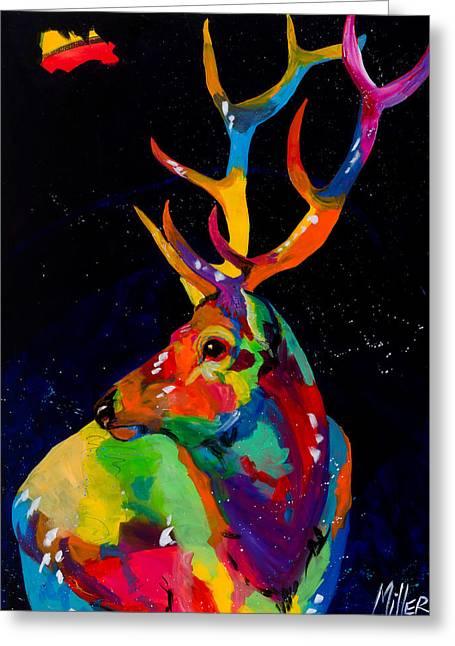 Rocky Mountain Elk Greeting Card