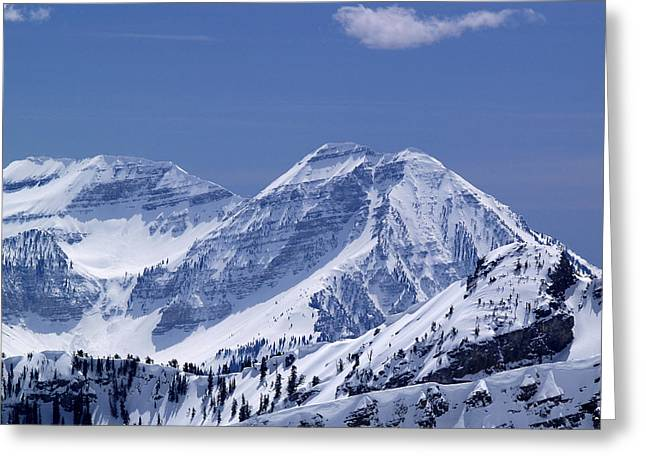 Rocky Mountain High Greeting Card by Bill Gallagher