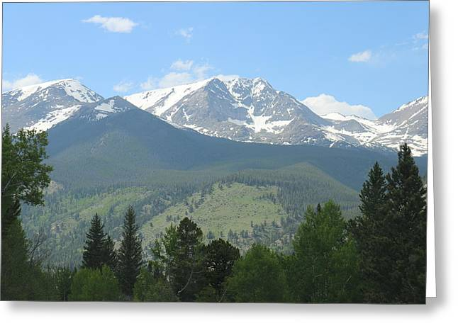 Rocky Mountain National Park - 2 Greeting Card