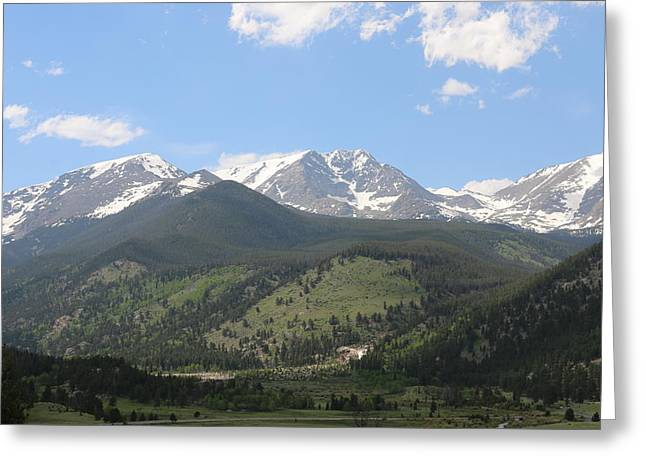 Rocky Mountain National Park - 3  Greeting Card
