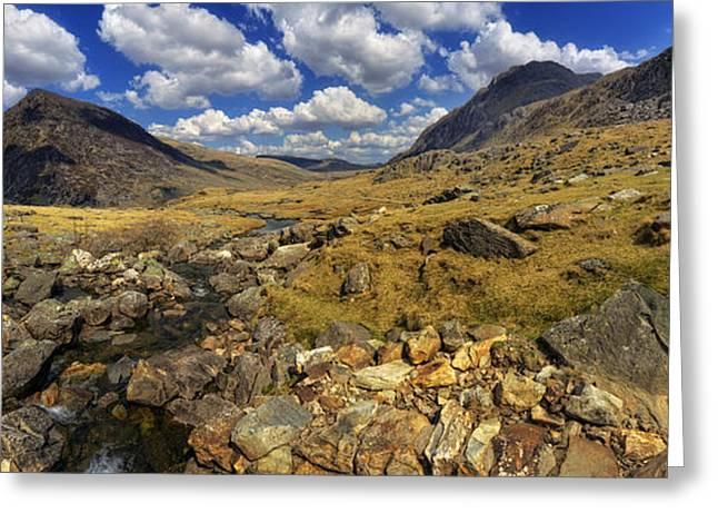 Rocky Mountain Stream Greeting Card by Ian Mitchell