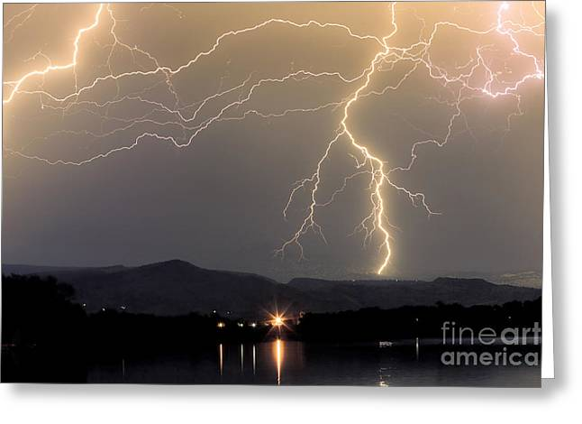 Rocky Mountain Thunderstorm  Greeting Card