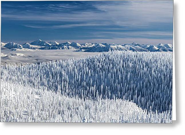 Greeting Card featuring the photograph Rocky Mountain Winter by Aaron Aldrich