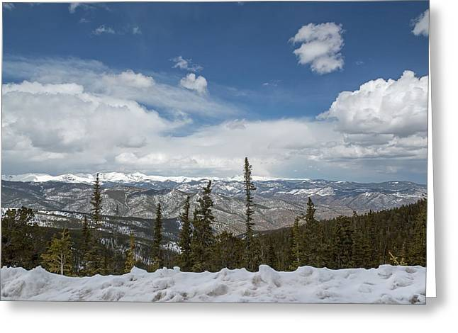 Rocky Mountains Greeting Card by Jim West