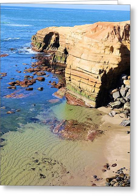 Rocky Point Sunset Cliffs Greeting Card