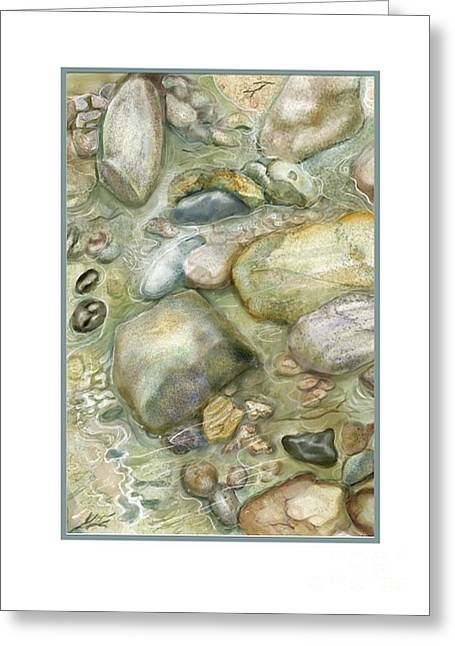 Rocky Shore Note Card Greeting Card