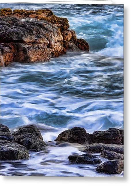 Rocky Shore Right Greeting Card by Kelley King